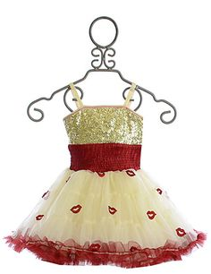 Ooh La La Couture Wow Pouf Dress Champagne Lips PREORDER $116.00