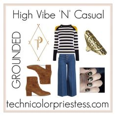 """""""High Vibe 'N' Casual- GROUNDED"""" by erinelizabethoneill on Polyvore featuring ATP Atelier, Gatsby, Marc Jacobs, John Brevard and Karen Millen"""