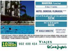Viajes El Corte Inglés Madeira, Funchal, Portugal, Hoteles y Vuelos, Julio, Agosto, Septiembre, Ofertas, Catálogo