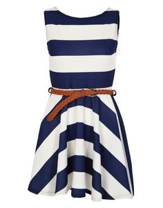 Miso Stripe Dress. Can't get enough of nautical inspired clothing!