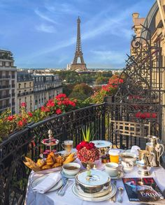 "The view from Carrie's hotel room at Hotel Plaza Athenee - Paris, France- Where ""Sex and the City"" was filmed Oh The Places You'll Go, Places To Travel, Europe Places, Places In Italy, Beautiful Places To Visit, Cool Places To Visit, Beautiful Beaches, Travel Destinations, Hello France"