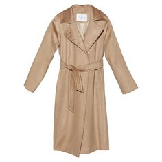 There's something unapologetically romantic about a silk-lined camel hair coat, and Max Mara's take, cut in a classic trenchshape, checks all the boxes: trim t