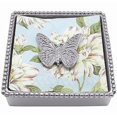 Mariposa Monarch Beaded Napkin Box Mariposa https://www.amazon.com/dp/B01AUA1VPM/ref=cm_sw_r_pi_dp_x_06vaybKFVP5TS