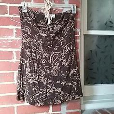 Summer dress Ties around the neck, never worn Chanceful Dresses Mini