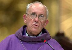 Pope Francis I: Who is Jorge Mario Bergoglio? click to read..interesting..the more I read ..the more I feel this will be a great leader..by the way..he carried his own luggage over to the Vatican..and carries a simple wooden cross rather than a gold one..