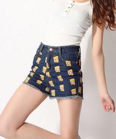 Shorts Jeans Bart Simpsons