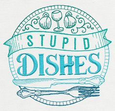 Spice It Up - Stupid Dishes - Thread List   Urban Threads: Unique and Awesome Embroidery Designs
