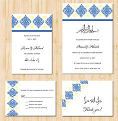 Caligrafa by Natoof calligraphy arabic invitation Arabic