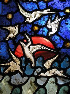 Cathédrale de Gloucester #vitraux