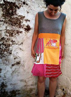 PANDIELLEANDO: RUMS#26/15: de Falda a Vestido