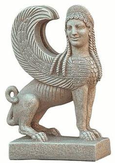 Lamassu  Statue, Metropolitan Museum, New York. 540-530 B.C.