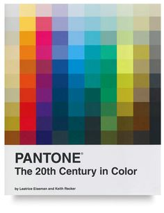 PANTONE: A Color History of the 20th Century ~ by Leatrice Eiseman and Keith Recker.  Explore 100 years of the evolution of color's sociocultural footprint through over 200 works of art, advertisements, industrial design products, fashion trends, & other aesthetic ephemera.  A fascinating look at the culture of the 20th century through the popular color palettes of each decade.