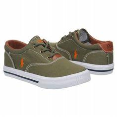 Polo by Ralph Lauren Vaughn Pre Shoes (Olive) - Kids' Shoes - 1.0 M