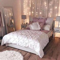 Home Architecture Gorgeous Blush And Gold Bedroom Of Quarto Charmoso Dando Grande Aten O Ao