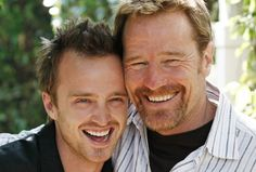 Aaron Paul (Jesse Pinkman) and Bryan Cranston (Walter White). Breaking Bad, makkerpar, great tv show, photo Gotham, Serie Breaking Bad, Sherlock, Hogwarts, Jesse Pinkman, Aaron Paul, Bryan Cranston, Walter White, Best Tv Shows