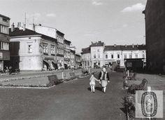 Skoczów: kiedyś i dziś. fragment  ulicy Cieszyńskiej