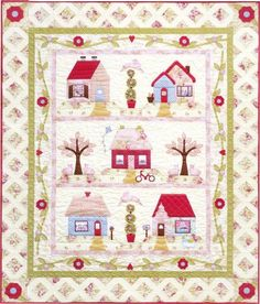 Adorable quilt to make
