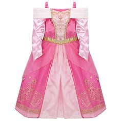 Disney Sleeping Beauty dress - This will be Katie's dress for her party - got it for her as a Christmas present just now.