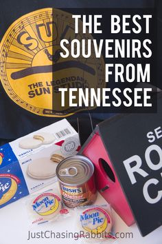 Pick up some iconic and memorable souvenirs from a visit to the state of Tennessee including Moon Pies from Chattanooga and an Elvis souvenir from Memphis. Travel Advice, Travel Tips, Travel Guides, Amazing Destinations, Travel Destinations, Travel Souvenirs, World Traveler, Travel Usa, Family Travel