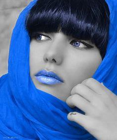 The color blue: Splash image by Coserella - Photobucket