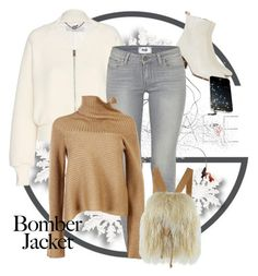 """Winter Style: Bomber Jackets"" by andrejae ❤ liked on Polyvore featuring Étoile Isabel Marant, STELLA McCARTNEY, Paige Denim, Maison Margiela, Totem, women's clothing, women, female, woman and misses"
