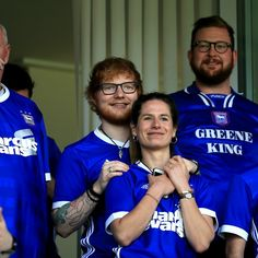 #CoupleGoals! Ed Sheeran and his fiancee Cherry Seaborn looked very much in love as they attended the Sky Bet Championship match between Ipswich Town and Aston Villa at Portman Road on Saturday, April 21 in Ipswich, England.