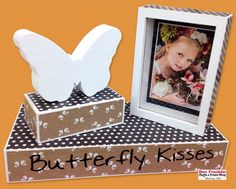 We offer a wide selection of innovative and affordable craft supplies. Diy Butterfly, Butterfly Kisses, Mod Podge Crafts, Fun Crafts, Frame It, Frame Shop, Kiss Photo, Old Boxes, Frame Display
