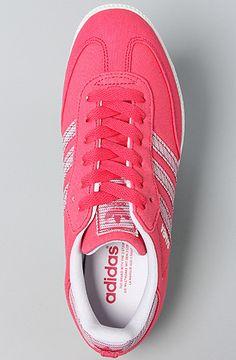 adidas The Samba Canvas Sneaker in Super Pink   Karmaloop.com - Global  Concrete Culture 99f2165dc29