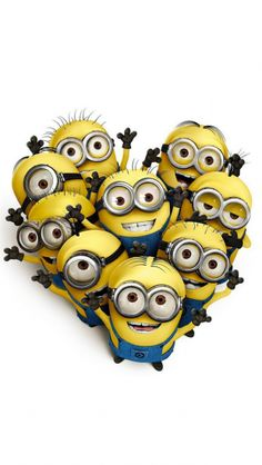 Love Minions - The iPhone Wallpapers
