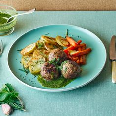 A quick and easy Rosemary Lamb Meatballs & Mint Sauce recipe, from our authentic British cuisine collection. Find brilliant recipe ideas and cooking tips at Gousto