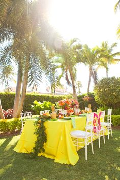 Fun and Colorful Lilly Pulitzer Wedding Ideas Photo Credit: Krystal Zaskey Photography www.krystalzaskeyphotography.com