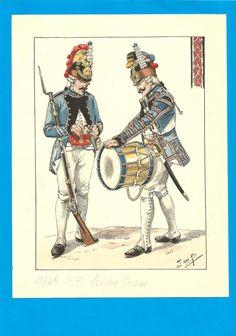 France - Planche de JOB - 1769. Légion CORSE.1. | Collections, Militaria, Documents, revues, livres | eBay!