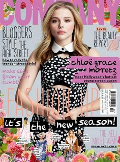 Chloe Moretz covers Company, September