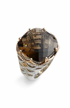 Tacori 'Truffle' Large Smoky Quartz Ring available at #Nordstrom