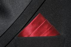 How To Fold a Pocket Square - Three Stairs Fold. Plus 25 more ways to fold on YouTube channel