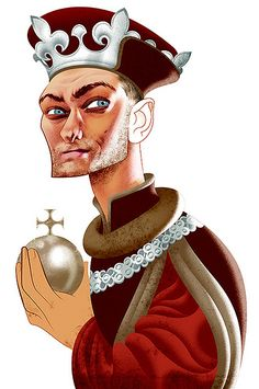 Jude Law as Henry V by Andre Carrilho