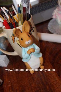 Peter Rabbit - Cake by Zoe's Fancy Cakes