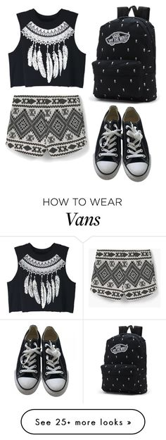 """Untitled #487"" by bloom02192004 on Polyvore featuring WithChic, Vans, Converse and MANGO"