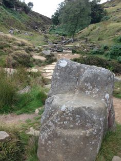 Emily Bronte's stone chair, where she wrote some of the most incredible work. Haworth Moors. My favourite place in the whole world