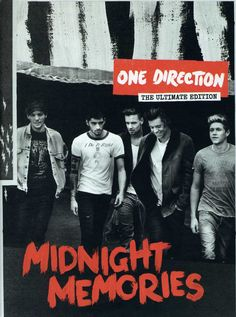 One Direction - that's Niall Horan, Zayn Malik, Liam Payne, Harry Styles, and Louis Tomlinson - have announced the release of their third album, Midnight Memories, out Nov. 25. The album follows 2012?