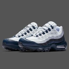 "0581e215414 Sneaker News on Instagram  ""Air Max 95s for the Bronx Bombers. What do you  think about this new colorway  For a detailed look"