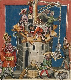 architecture in illuminated manuscripts - Google Search