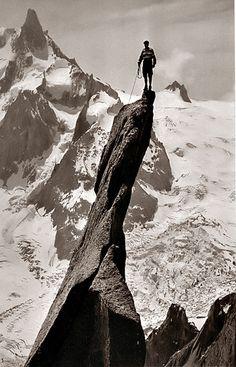 Gaston Rébuffat - Guides de Chamonix