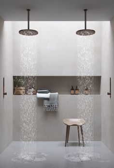 48 Easy Shower Design Ideas For Small Bathroom - Design Bathroom Interior, Home Interior, Modern Bathroom, Bathroom Ideas, Master Bathroom, Small Bathroom, Bathroom Storage, Budget Bathroom, Shower Ideas