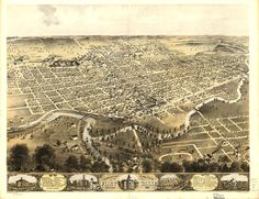 Old Map of Fort Wayne Indiana 1868 Map Antique Restoration Decor Style Fort Wayne Map Fine art Wall Map Print Poster Old Indiana Map by VintageImageryX Indiana Cities, Indiana Map, Fort Wayne Indiana, Birds Eye View Map, Wall Maps, Vintage Maps, City Maps, Poster Prints, Poster Poster