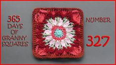 365 Days of Granny Squares Number 327
