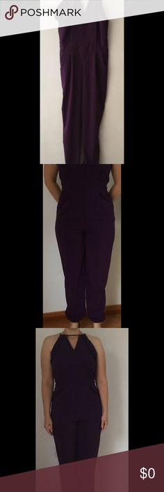 Additional photos of Royal Purple Jumpsuit Sorry for the bad lighting. We are moving and everything is in boxes. Hope these pictures help a little :) Thank you for checking out my closet. Other