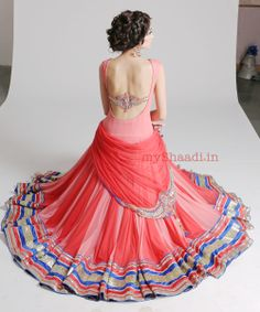 Gorgeous #Dress, Indian Style by Kamaali Couture Bridal Collection https://www.facebook.com/kamaalicouture?fref=ts via @Shaadi Bazaar -