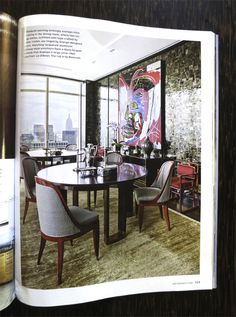 Our Macassar Ebony Table Tops Featured in Architectural Digest  http://atelierviollet.com/blog/macassar-ebony-table-tops-featured-architectural-digest/