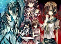 Higurashi no Naku Koro ni (When They Cry) Image - Zerochan Anime Image Board Dark Color Palette, Strange Events, When They Cry, Animes Yandere, Story Arc, Yandere Simulator, Crazy Girls, Dark Anime, Attack On Titan Anime